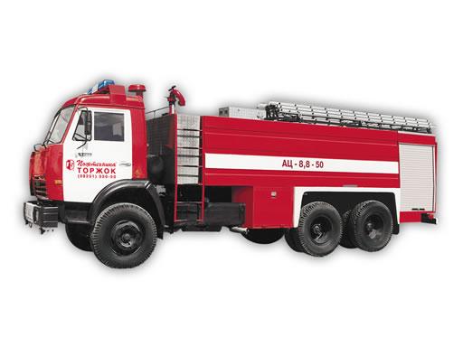 Пожарный автомобиль целевого назначения АЦ-8,8-50 (КамАЗ-53229)