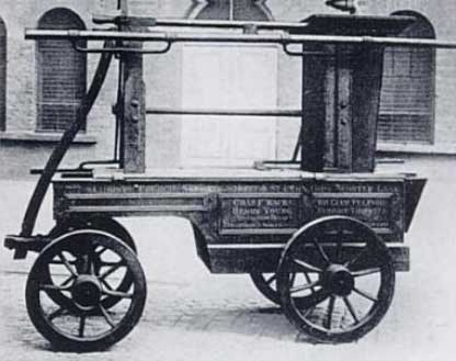 Пожарная машина 18 века