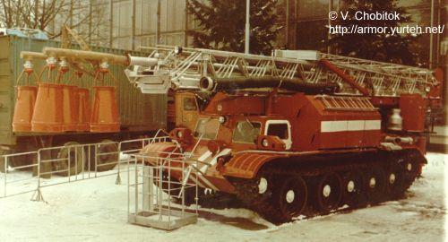 Мобильная пожарная машина