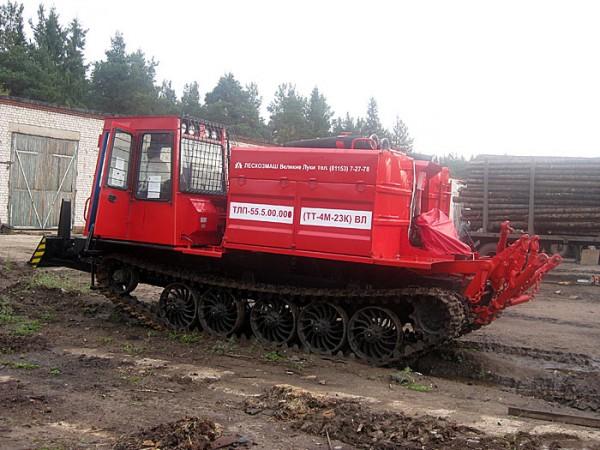 Трактор лесопожарный универсальный ТЛП-55