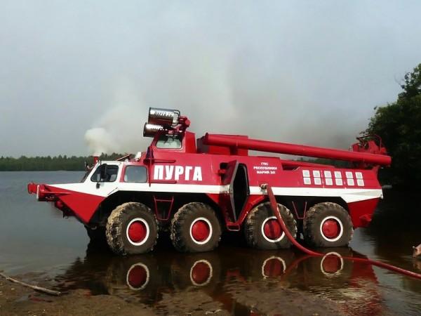 """Пожарный автомобиль ГАЗ-59402 """"Пурга"""""""