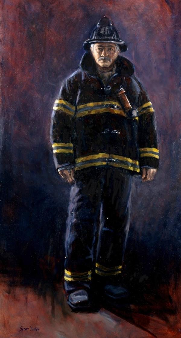 Сара Юстер. Лицо храбрости. Портрет шефа батальона пожарных Эда Эллисона