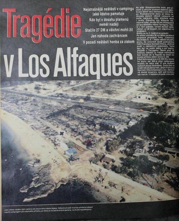 Трегедия в Лос-Альфакес