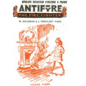 Реклама огнетушителя Anifyre