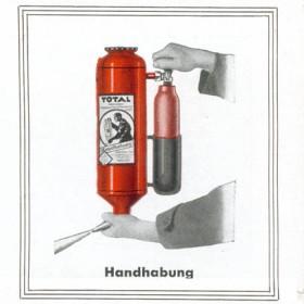 Ручной огнетушитель Total