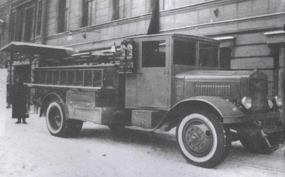 Радиусы разворота грузового автотранспорта