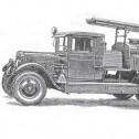 Довоенные пожарные автоцистерны