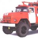 Автоцистерна пожарная среднего класса АЦ-2,5-40 (5313), мод. 6ВР