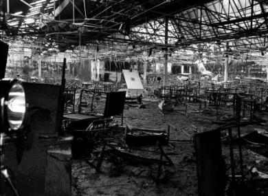Последствия пожара в отеле Стардаст, 14 фераля 1981 года, Дублин, Ирландия