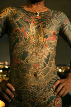 Татуировка японских пожарных