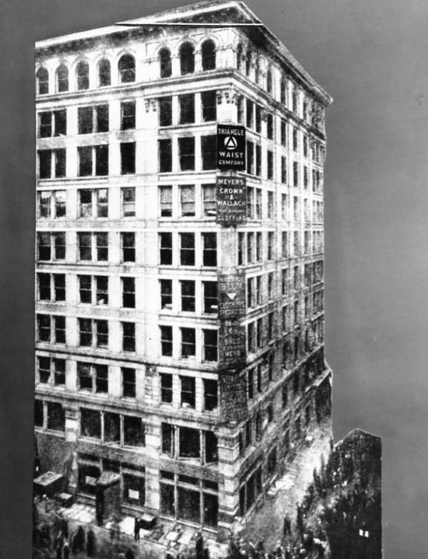 Здание Asch, в котором находилась фабрика Triangle, считалось «пожароустойчивым», однако пожар 25 марта не был для него первым.