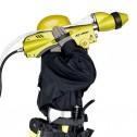 Ракетная установка Jet Spray для заброски пожарных рукавов