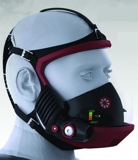 Sidewinder - концепт дыхательного аппарата для пожарных