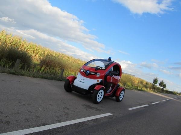 Renault Twizy для парижских пожарных