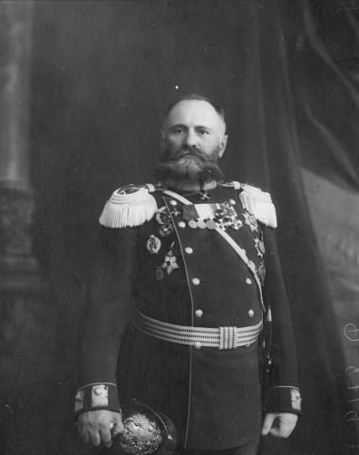 Литвинов Александр Владимирович - брандмайор Санкт-Петербургской пожарной команды в 1904-1917 годах