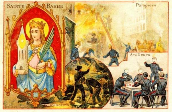 Святая Варвара - покровительница пожарных, шахтеров и артиллеристов