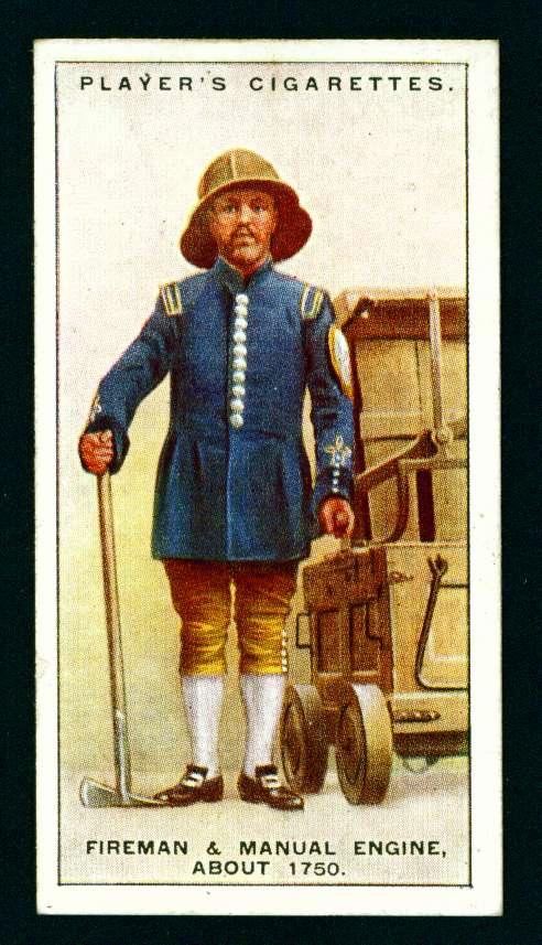 Пожарный и ручной насос. Около 1750 года