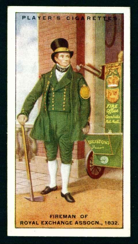 Пожарный королевского общества, 1832 год