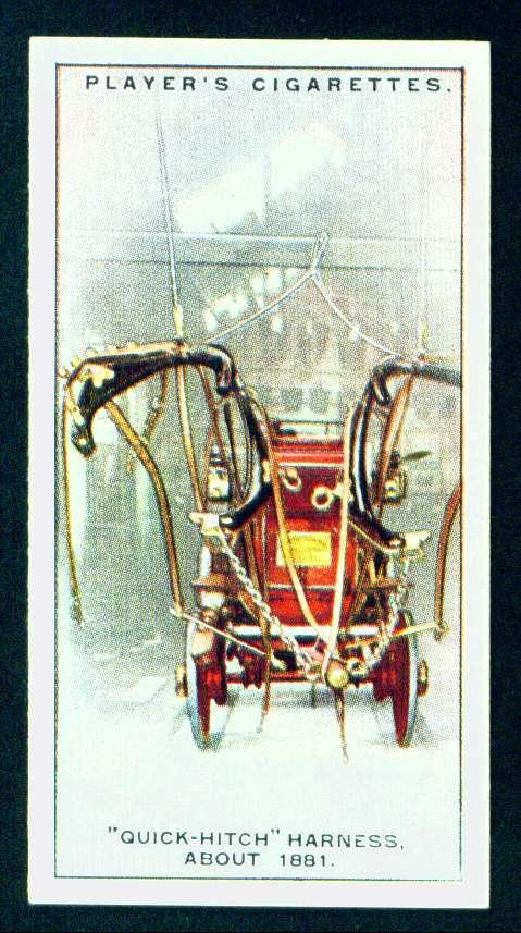 """Система """"быстрой упряжи"""", около 1881 года"""