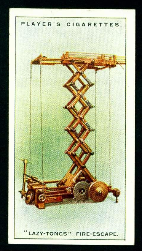 """Пожарная лестница системы """"lazy-tongs"""""""