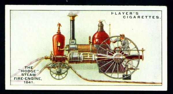 Паровой пожарный насос Ходжа, 1841 год