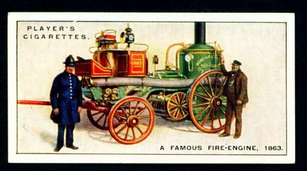 Паровой пожарный насос, 1863 год