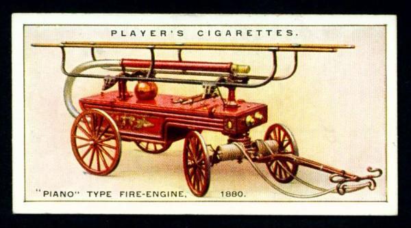"""Ручной пожарный насос типа """"PIANO"""", 1880 год"""