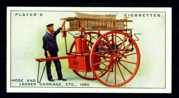 Повозка с рукавами, лестницами и другим инвентарем, 1880 год