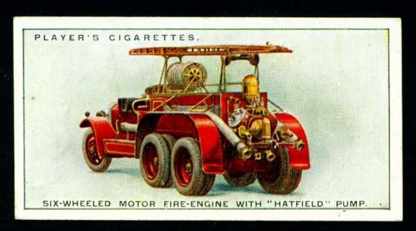 Шестиколесный пожарный автомобиль с насосом Хэтфилда