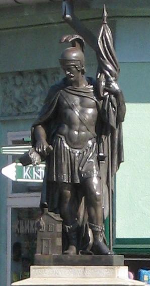 Статуя святого Флориана