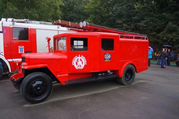 Восстановленная пожарная машина ПМЗ-11