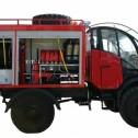 Мобильный пожарный комплекс «ГЮРЗА»