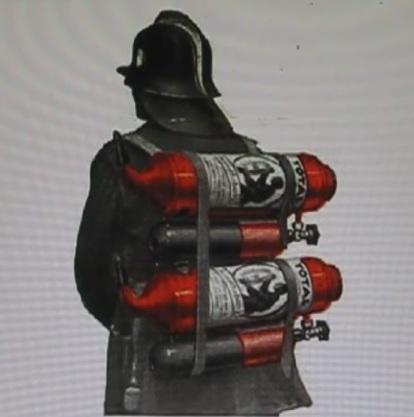 Как раньше применяли огнетушители