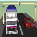 Модель рукавного моста общий вид