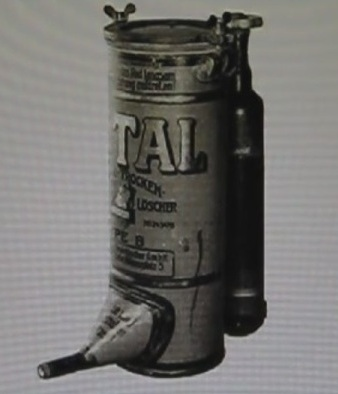 Огнетушитель немецкий Тотал 1912 год Углекислотный