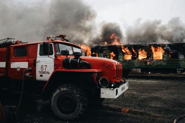 Пожарный автомобиль УРАЛ