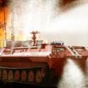 Гусеничные пожарные машины
