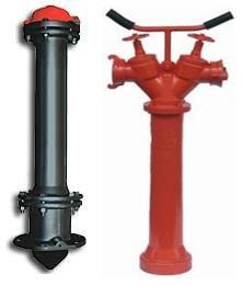 Гидрант пожарный и колонка пожарная