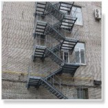 П2 - маршевые лестницы с уклоном не более 6:1