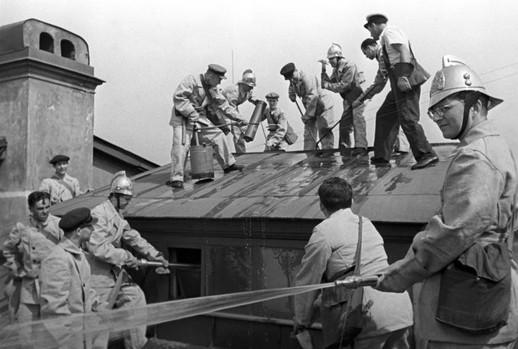 Пожарная охрана во времена блокады Ленинграда