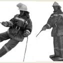 Упражнения по эвакуации и спасанию людей: спасание и самоспасание при помощи спасательной веревки