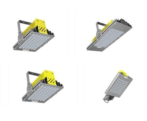 взрывозащишенные светодиодные светильники разных размеров