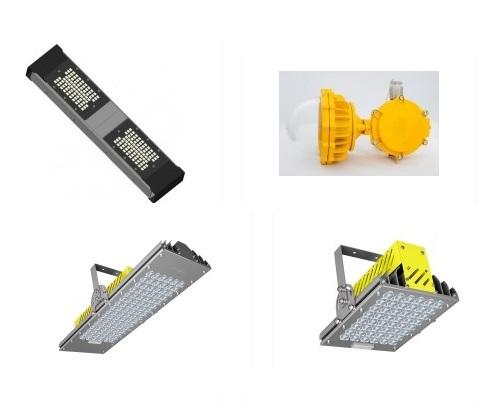 взрывозащишенные светодиодные светильники