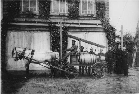 История пожарных России