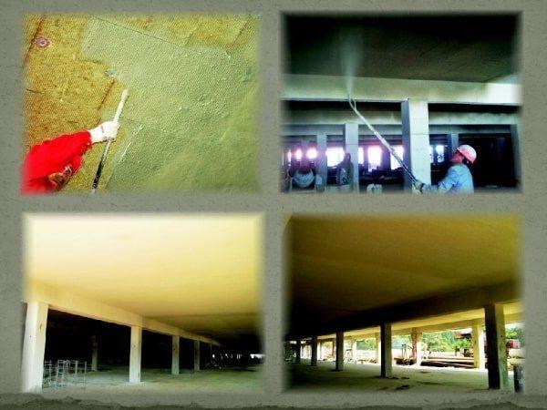 Комбинированная конструктивная огнезащита бетонных конструкций