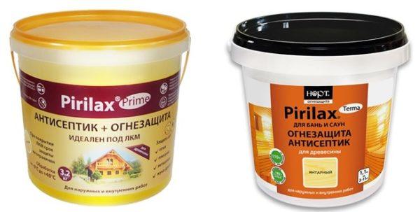 Виды продукции Pirilax prime и terma