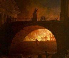 пожар в древнем Риме 64 году