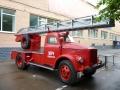 Пожарная автолестница АЛГ-17(51)ЛЧ, шасси ГАЗ-51. Торжокский завод ППО