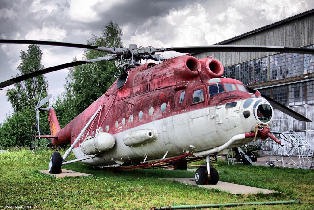 Пожарный вертолет МИ-6ПЖ