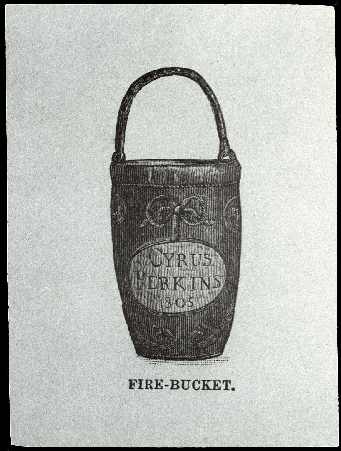Пожарное ведро